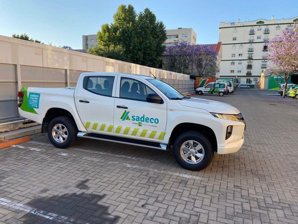 Sadeco y Mitsubishi L200 para la desinfección de Córdoba photo5924554566609777101-1024x768